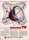 1954-May RCA Ad for 15GP22 Color CRT (132K bytes)
